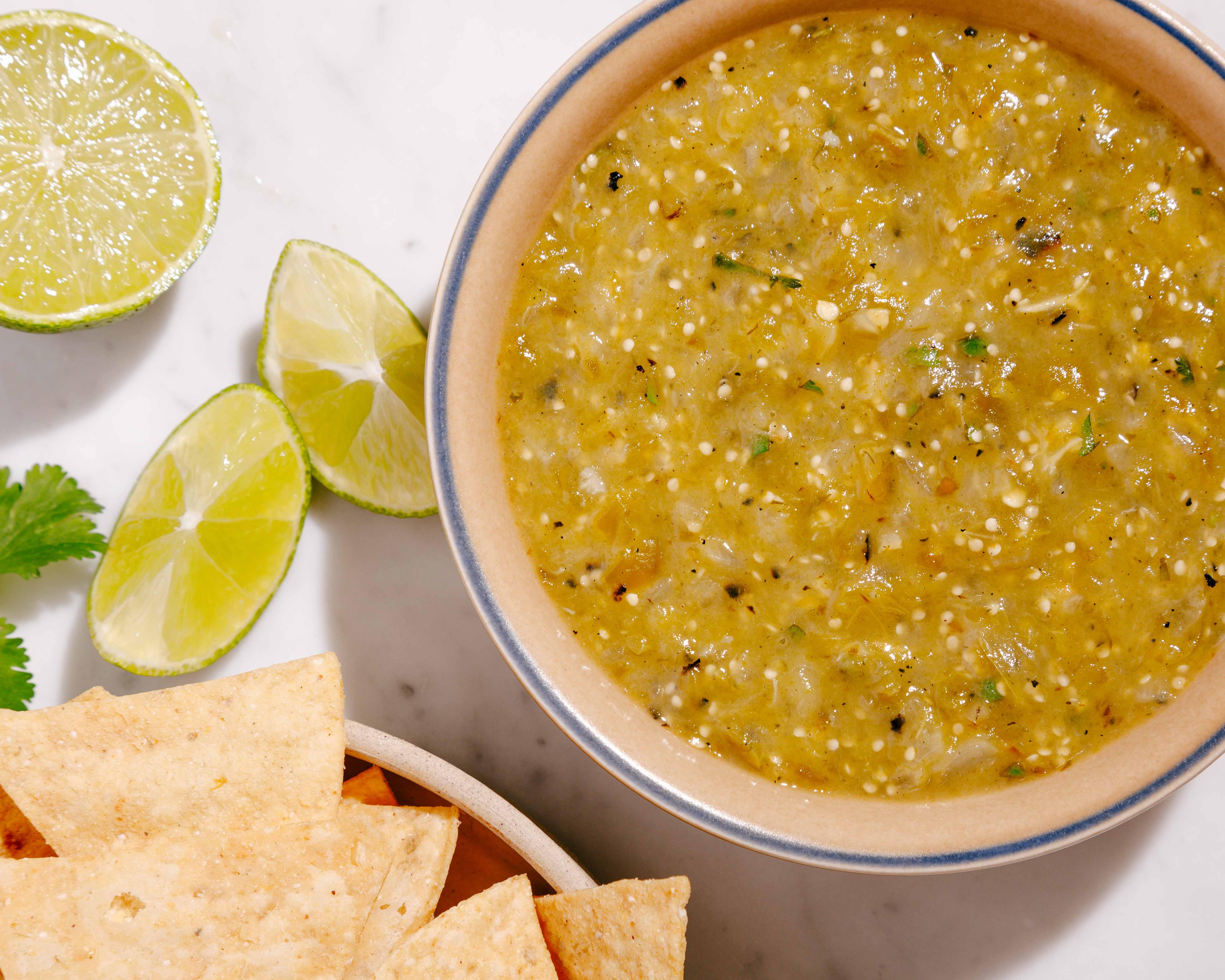 Bowl of Salsa Verde